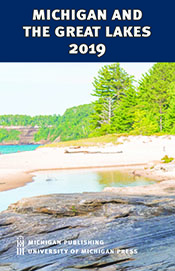 Catalog cover for Michigan and the Great Lakes 2019