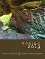 Cover of Spring 2019 catalog