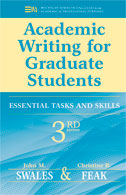 Academic Writing for Graduate Students, Third Edition