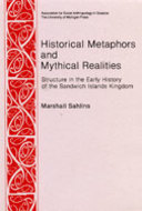 Book cover for 'Historical Metaphors and Mythical Realities'