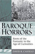 Book cover for 'Baroque Horrors'