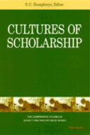 Book cover for 'Cultures of Scholarship'