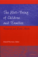 Book cover for 'The Well-Being of Children and Families'