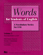 Cover image for 'Words for Students of English, Vol. 3'
