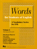 Cover image for 'Words for Students of English, Vol. 6'