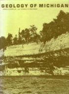 Book cover for 'Geology of Michigan'