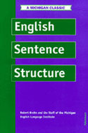 Cover image for 'English Sentence Structure'