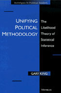 Cover image for 'Unifying Political Methodology'
