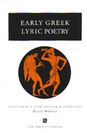 Book cover for 'Early Greek Lyric Poetry'
