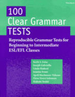 Cover image for '100 Clear Grammar Tests'