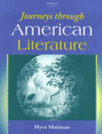Book cover for 'Journeys through American Literature'