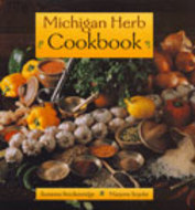 Book cover for 'Michigan Herb Cookbook'