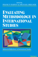 Book cover for 'Evaluating Methodology in International Studies'