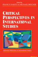 Book cover for 'Critical Perspectives in International Studies'