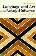 Book cover for 'Language and Art in the Navajo Universe'
