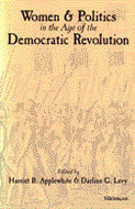 Cover image for 'Women and Politics in the Age of the Democratic Revolution'