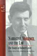 Cover image for 'Narrative, Violence, and the Law'