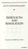 Book cover for 'Simulacra and Simulation'