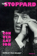 Book cover for 'Tom Stoppard in Conversation'