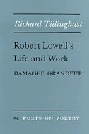 Book cover for 'Robert Lowell's Life and Work'