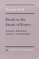 Cover image for 'Death to the Death of Poetry'