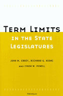 Book cover for 'Term Limits in State Legislatures'