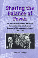Book cover for 'Sharing the Balance of Power'