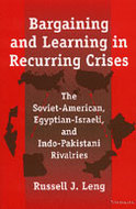 Book cover for 'Bargaining and Learning in Recurring Crises'