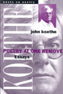 Book cover for 'Poetry at One Remove'