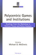 Book cover for 'Polycentric Games and Institutions'