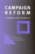 Book cover for 'Campaign Reform'