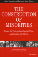 Book cover for 'The Construction of Minorities'