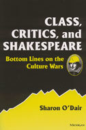 Cover image for 'Class, Critics, and Shakespeare'