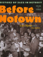 Book cover for 'Before Motown'