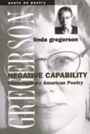 Book cover for 'Negative Capability'