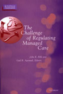 Book cover for 'The Challenge of Regulating Managed Care'