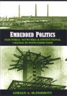 Book cover for 'Embedded Politics'