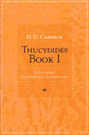 Book cover for 'Thucydides Book I'