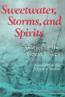 Book cover for 'Sweetwater, Storms, and Spirits'
