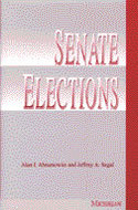 Book cover for 'Senate Elections'
