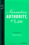 Cover image for 'Narrative, Authority, and Law'
