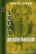 Book cover for 'Legal Modernism'
