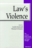 Book cover for 'Law's Violence'