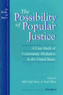 Book cover for 'The Possibility of Popular Justice'
