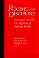 Cover image for 'Regime and Discipline'