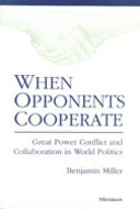Cover image for 'When Opponents Cooperate'