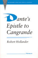 Cover image for 'Dante's Epistle to Cangrande'
