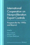 Book cover for 'International Cooperation on Nonproliferation Export Controls'