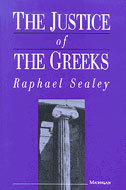 Book cover for 'The Justice of the Greeks'