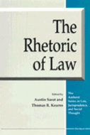 Cover image for 'The Rhetoric of Law'